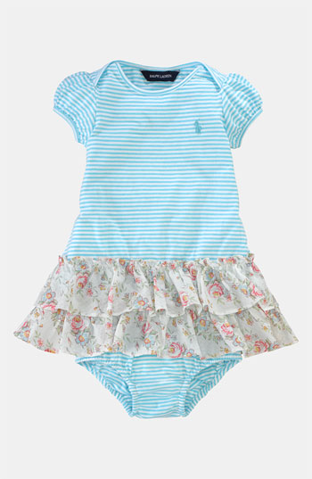 Ralph Lauren Stripe Dress & Bloomers (Infant). Nordstrom Easter