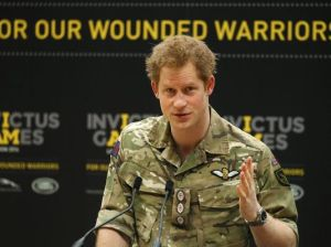 Prince Harry launches Invictus Games in London. Image credit: Sang Tan AP. Photo courtesy of USA Today