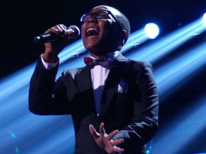 "Quintavious Johnson performs the Beatles hit song ""Let It Be"" on the finale episode of ""America's Got Talent""!"