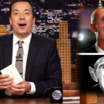 """Watch Jimmy Fallon Pen Thank You Notes to Apple Picking, The Pentagon, Florida Governor Rick Scott; Guests Bradley Cooper, Neil Diamond Sings Cracklin' Rosie on """"The Tonight Show""""!"""