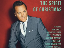 Michael W. Smith & Friends: The Spirit Of Christmas album cover.