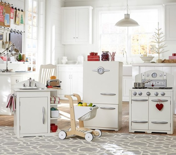 Pottery Barn Retro Kitchen Set: Retro Pottery Barn Kids Kitchen Collections On Sale Are A