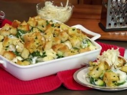 Chef Jeff Anderson shares the secret to making this delicious holiday vegetable casserole using Lucerne dairy products.