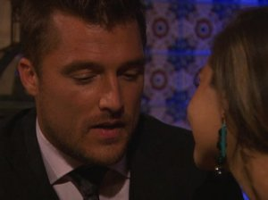 """Britt puts Chris Soules on the spot on """"The Bachelor"""" season 19. She wants answers regarding the """"inappropriate behavior"""" she's heard about with Chris and the bachelorettes."""