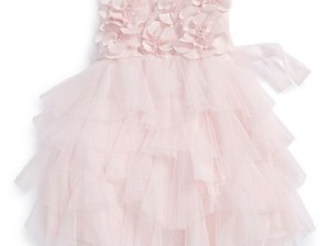 Biscotti Floral Tiered Sleeveless Dress (Baby Girls) in Pink