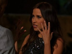 Watch The Bachelorette season 11 episode 4. Kupah is upset about not getting a rose. Kaitlyn confronts Kupah after hearing him yell while she was doing an interview.