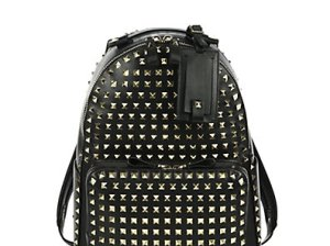 Valentino Rockstud Backpack in Black