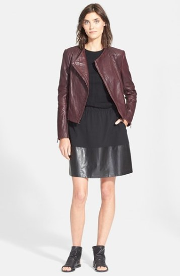 Glam Leather Moto Jackets Are A Must For Fall 2015