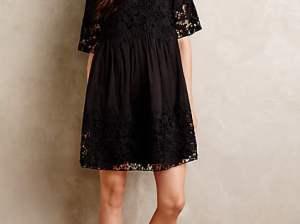 Vincennes Swing Dress in Black or Ivory