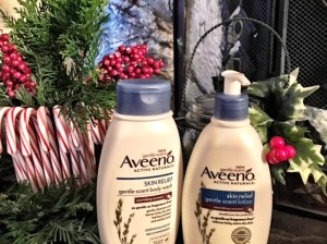 Aveeno Skin Relief Gentle Scent Body Wash and Aveeno Skin Relief Gentle Scent Lotion