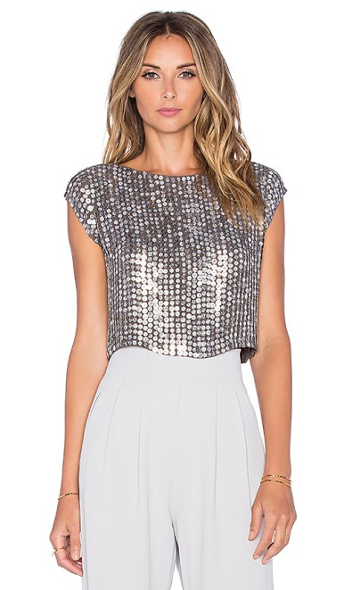 Sequined Blouses Tops