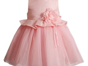 Kleinfeld Pink Kleinfeld Pink 'Julianna' Sleeveless Dress (Baby Girls) Pink