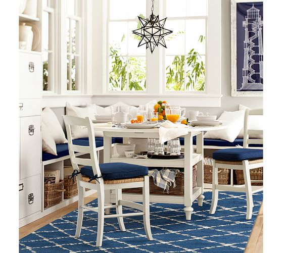 Kitchen Table With Leaf: Pottery Barn Dining Event: Save 20% On Dining Tables