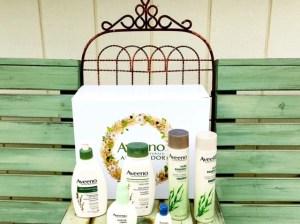 Aveeno Daily Moisturizing Body Wash, Daily Moisturizing Lotion, Aveeno Positively Radiant Daily Moisturizer, Aveeno Pure Renewal Shampoo and Conditioner,