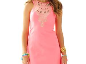 Lilly Pulitzer Largo Sheath Dress Pink Sun Ray sheath dresses for the kentucky derby
