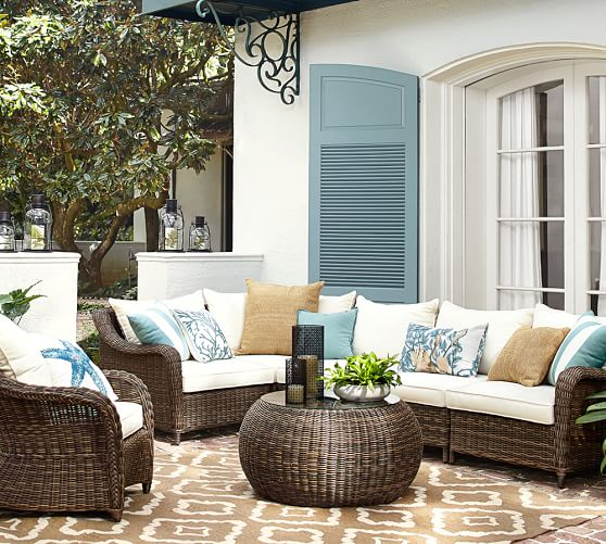 Pottery Barn Outdoor Furniture Sale Save 30% Chaise