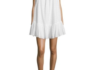 Elizabeth and James Pippa Off-The-Shoulder Eyelet Dress White eyelet dresses summer