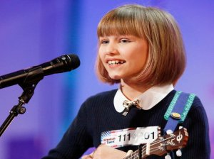 """Watch America's Got Talent Season 11 Episode 2: See talented 12 year old singer-songwriter Grace Vanderwaal perform an original song for the judges and the crowd. Mr. Simon Cowell called her """"the next Taylor Swift"""" after her amazing performance. She is brilliant!"""