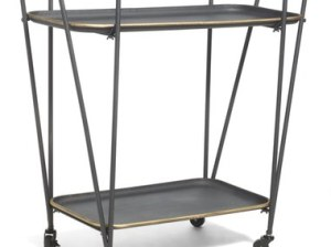 CRYSTAL ART GALLERY Metal Bar Cart Bar Cart 2016 Nordstrom anniversary sale