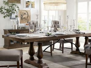 Pottery Barn LORRAINE EXTENDING DINING TABLE pottery barn 20% off sale