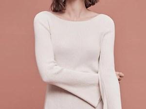 Moth Marta Bell Sleeve Sweater Ivory bell sleeve sweaters fall 2016 trend
