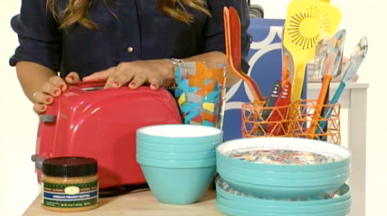 BRIGHT TOASTER RETAILS FOR 15 Interview: HGTVs Sabrina Soto Shares Back to College Decor Tips!