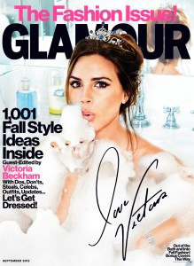 GlamourSeptCover 219x300 Actress Elizabeth Olsen is Military Chic in Glamours First Full On Fashion Issue!