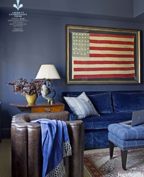 HBX090112 129 834x1024 Images: House Beautiful Magazine Publishes Americans #1 Hue! Did Your Favorite Color Make the Cut?