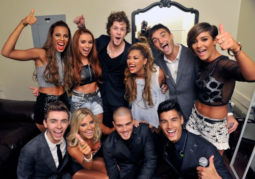 151424627 1024x719 Celebrity Images: The Saturdays & The Wanted Help Celebrity Blogger Perez Hilton Save The Music at One Night in Los Angeles!