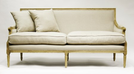 cc Zentique Inc. Louis Sofa in Natural Oak 1024x568 Actress Courteney Cox Curates New Home Interior Collection For a Cause