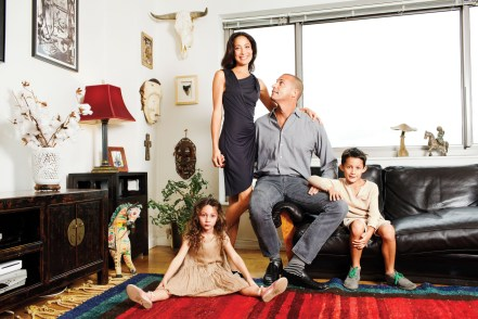 messagepart1 1024x682 Images: Famed Photographer Nigel Barker Takes Page Six Into His Gorgeous West Village Abode & Talks Decorating and Life After Americas Next Top Model