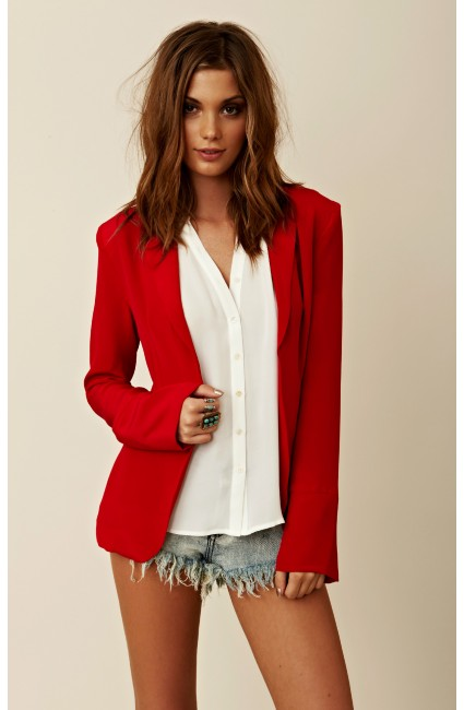 stylestalker red blazer 1 Sale Alert! 10% Off Our Favorite New Beachy Boho Chic Merchandise at Planet Blue!