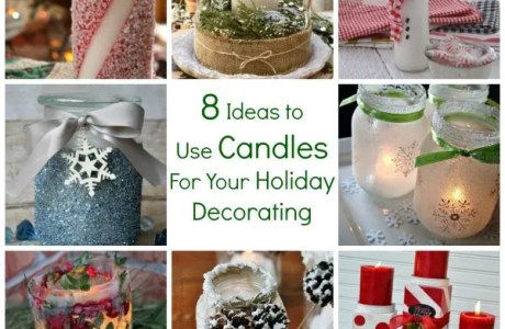 8 Ideas to Use Candles For Your Holiday Decorating
