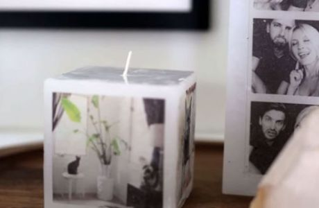 How To Put a Photo On To A Candle