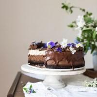 Obłędny sernik czekoladowy