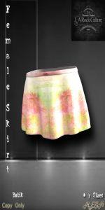 Spring Skirt Batik