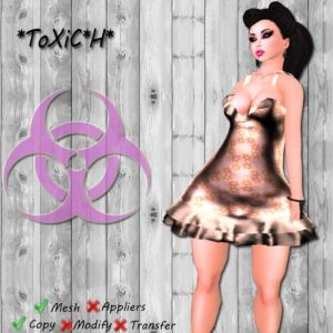 _ToXiC_H_ Bubble Dress Star Shine