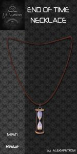 Folder End of time Necklace