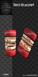 Folder Red Bracelet