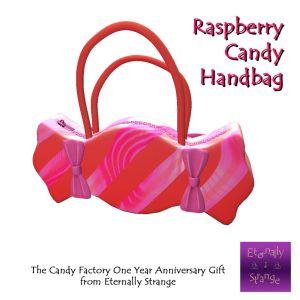 TCF Anniversary Gift Raspberry Candy Handbag