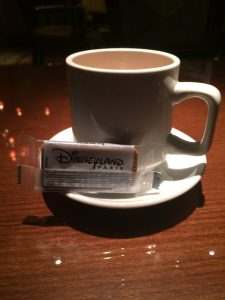 Disneyland Paris hot chocolate is amazing and free from 12noon-10.30pm for all those staying in Golden Forest Rooms at Sequoia Lodge Hotel
