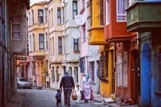 Balat's colorful streets