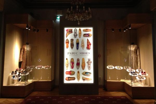 Shoes exhibition at Sadberk Hanım Museum