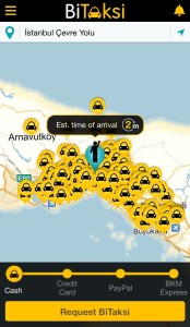 Find a taksi easily anywhere in Istanbul with BiTaksi