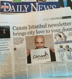 Canım Istanbul in Hürriyet Daily News