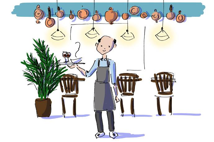 Illustration of Istanbul Kantin restaurant