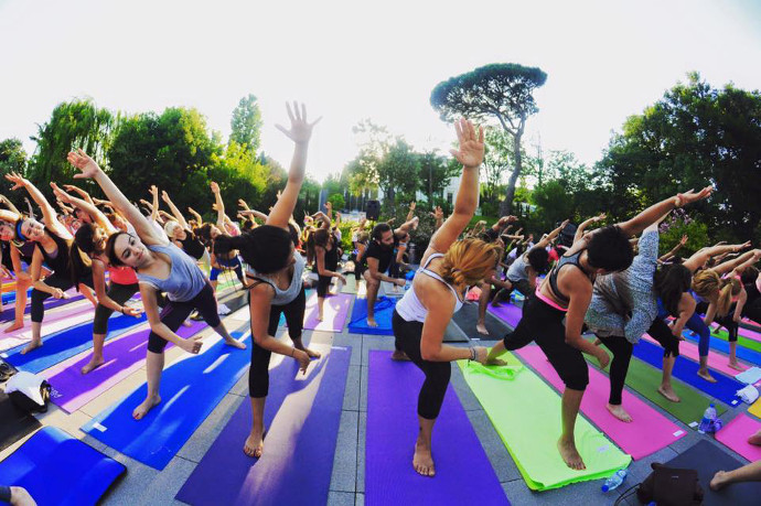 Sakıp Sabancı Museum yoga classes