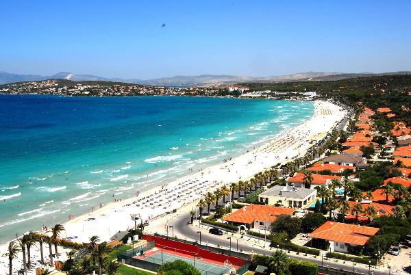 Çeşme plaj foto