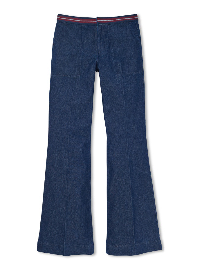 Tommy Hilfiger high waisted flared pants
