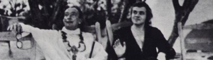 H.R. Giger (sí, el creador de Alien) y Dalí en Cadaqués